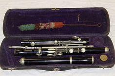 Vintage German Wood Flute