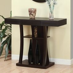 Hokku Designs Finley Console Table in Red Cocoa $159