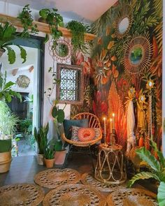 A Different Me Room Ideas Bedroom, Bedroom Decor, Hippy Room, Deco Boheme, Aesthetic Room Decor, Home And Deco, Dream Rooms, Cool Rooms, My New Room