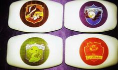 Baby Harry Potter's houses.