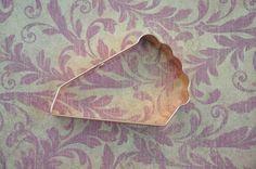 ecrandal handmade copper cookie cutters - PIE SLICE , $18.99 (http://stores.ecrandal.com/pie-slice/)