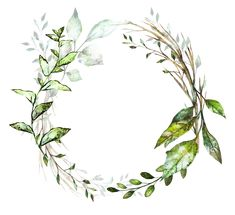 H804 (27) Floral Wreath Watercolor, Watercolor Flowers, Watercolor Paintings, Wreath Drawing, Watercolor Projects, Instagram Highlight Icons, Heart Art, Flower Frame, Wallpaper Backgrounds