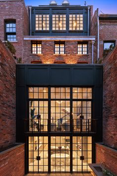 SPG Architects :: Work : Townhouses : West Village Townhouse, New York City