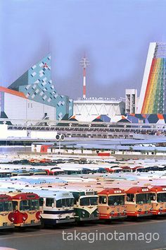 Osaka, Buses, Japan, World, Products, Busses, The World, Japanese, Gadget
