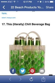 Chill It Bags Beer Cooler Bag Green.would ride perfect in the gator ! Online Wedding Registry, Bridal Registry, 6 Pack Bag, Chill Bag, Backyard Barbeque, Beer Cooler, Wine Tote, Valentines Day Gifts For Him, Green Bag