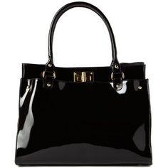 Cleo Patent Bag