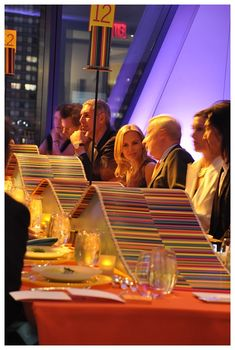 Look at the way David Stark incorporated the colored pencil into a recent event at the Tate! (also, hi Tory Burch!)