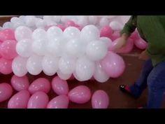 fazendo arco de balão em cano de PVC de 2.5mm 6 m Fácil rápido e pratico (Suzy festa decoração) - YouTube