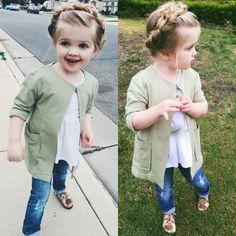 Little girl hair up do