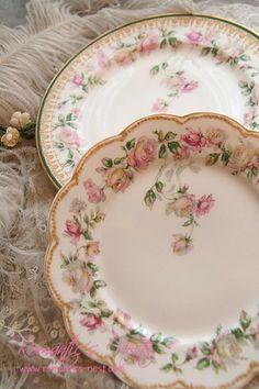 R o s e s - <3 Such beautiful inspiring plates.... I DO LOVE <3