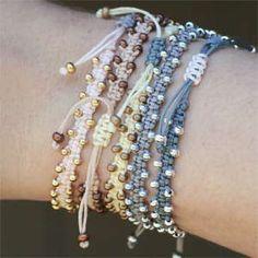 Monsoon~ Bollywood Macramé Bracelet