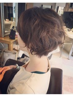 Short Curly Hair, Short Hair Cuts, Curly Hair Styles, Permed Hairstyles, Pixie Cut, Bob Cut, Hair Goals, My Hair, Hair Makeup