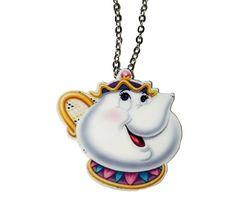 Mrs Potts necklace
