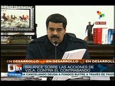 Maduro presenta balance sobre estrategia contra el contraban