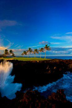 The Beach Course at Waikoloa Beach Golf Club in Hawaii