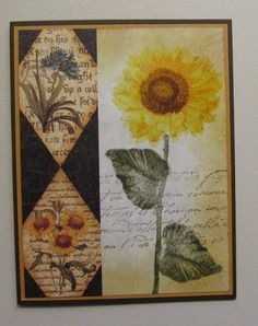 HYCCT1201A Sunflower by allee's - Cards and Paper Crafts at Splitcoaststampers