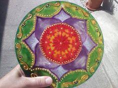 Mandala na otvorenie srdcovej čakry Decorative Plates, Mandala, Home Decor, Decoration Home, Room Decor, Home Interior Design, Mandalas, Home Decoration, Interior Design