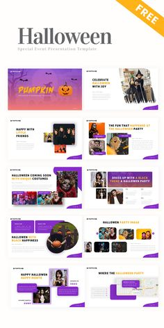 Free Halloween Special Gift – ( Social Media Pack + Presentation Deck ) #PowerPoint #PPT #template #presentation #pitchdeck #graphicdesign #rrgraph #rrslide