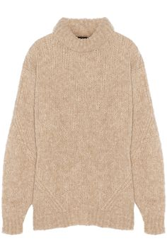 TIBI Bubble knitted turtleneck sweater. #tibi #cloth #sweater