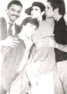 ...This may quite possibly be the most adorable Empire Strikes Back cast picture in existence.