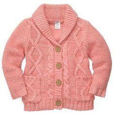 I plan on buying this cardigan for my babydoll! #Carters #babygirlfashion