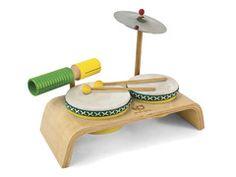 Wooden Beginner Drum Set