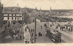 Guildford Square, Rothesay looking West 1915.