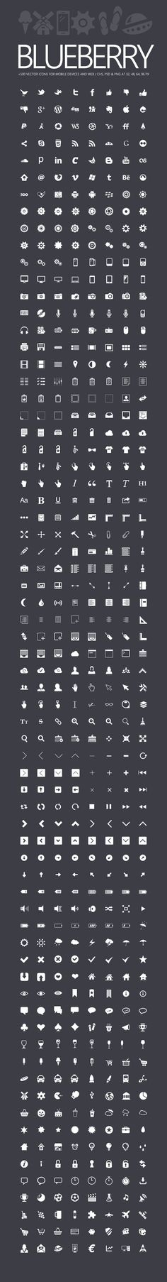 New from DealPixel: Premium Icon set for Mobile UI & Web