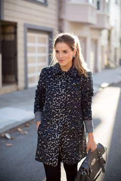 Gal Meets Glam- Leopard Coat