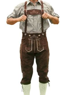 Amazon.com: Oktoberfest lederhosen, German costumes, oktoberfest outfits, Bundhosen HANS. My next purchase for Oktoberfest 2014!