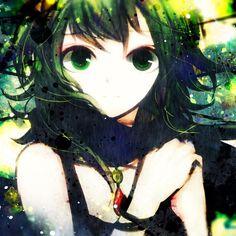 Big eyes cartoon anime girls hand-painted wallpapers 1024x1024 (18).jpg (1024×1024)