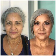 Smokey Eye Makeup, Skin Makeup, Beauty Makeup, Bride Makeup, Wedding Makeup, Makeup Over 50, Makeup For Older Women, Beauty Makeover, Power Of Makeup