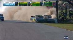 The end of the Chevrolet Silverado 250 Nascar truck race https://youtu.be/5x96AuE-zbE Love #sport follow #sports on @cutephonecases
