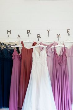 Purple bridesmaid dresses for rustic indoor wedding#wedding #weddinginspiration ##bridalparty #maidofhonor #weddingideas #weddingcolors #tulleandchantilly #tulleandchantillyweddingblog