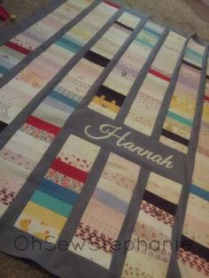 Made to Order Heirloom Quilt  (Upcycled From Baby Clothes). $0.20, via Etsy.