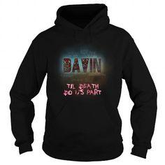 I Love DAVIN-the-awesome T shirts