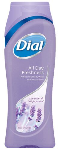 Sweetly innocent and richly exotic, Dial® All Day Freshness Lavender & Twilight Jasmine skin-caring wash provides an experience that is pure indulgence. Let its intoxicating fragrance refresh your senses, while its moisturizers help hydrate your skin. Learn more at www.dialsoap.com