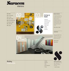 Saracen Interiors by Ashleigh Lennie, via Behance