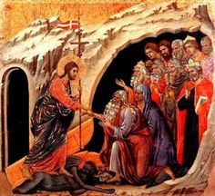 Holy Saturday - Ancient sermon on the Harrowing of Hell