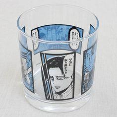 Attack on Titan Rock Glass Banpresto JAPAN ANIME MANGA 5 #BANPRESTO