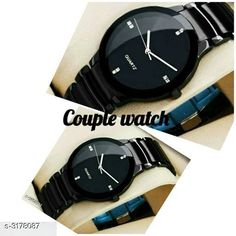 Watches  Stylish Analog Couple Watch Material: 1 Watch - Steel 2 Watch - Steel Size: Free size Type: Analog Description: It Has 1 Piece Of Women's Watch 1 Piece Of Men's Watch Country of Origin: India Sizes Available: Free Size   Catalog Rating: ★4.2 (1201)  Catalog Name: Divine Stylish Analog Couple Watches Vol 14 CatalogID_436774 C72-SC1087 Code: 583-3178087-339