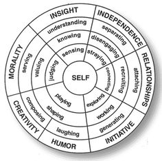 The Resiliency Mandala. Site explains each stage in detail. Great resource!