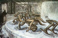 Hans Rüdi Giger: Zodiac Fountain