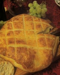 Baked Brie with homemade puff pastry New Years Eve 2102