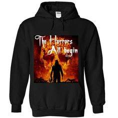The horrors, all begin. Happy Halloween T-Shirts, Hoodies, Sweaters