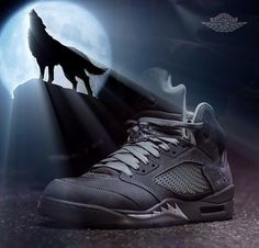 "Air Jordan Retro 5 ""Wolf Grey"""