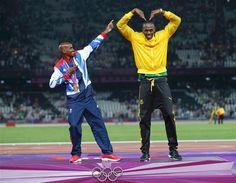 Farah and Bolt