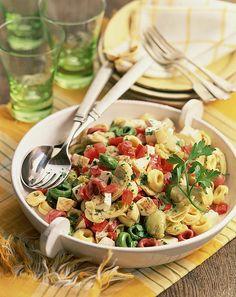 artichoke tortellini summer pasta