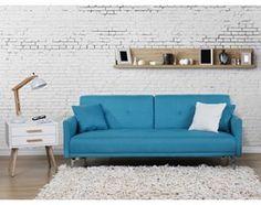 Sofa z funkcja spania morska - kanapa rozkladana - wersalka - LUCAN