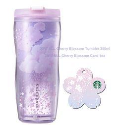 Starbucks KOREA 2017 SLL Cherry Blossom Tumbler 355ml 1ea + Card 1ea SET #Starbucks
